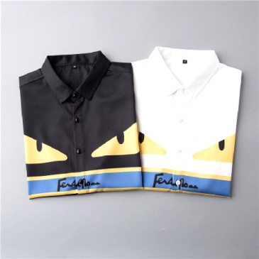 Fendi Shirts for Fendi Short-Sleeved Shirts for men #9874422
