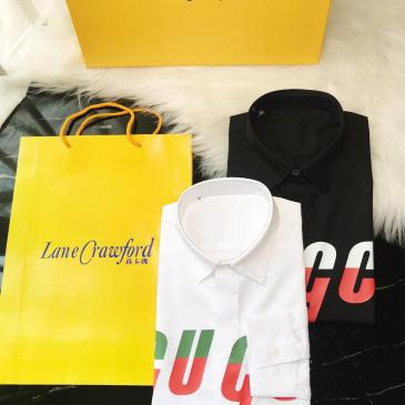 Gucci shirts for Gucci long-sleeved shirts for men #9124923