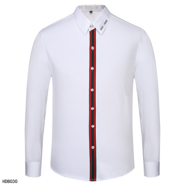 Gucci shirts for Gucci long-sleeved shirts for men #9874196