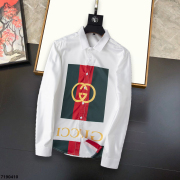 Gucci shirts for Gucci long-sleeved shirts for men #99874128