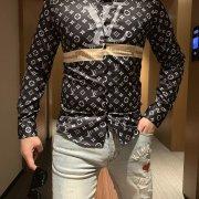 Louis Vuitton Shirts for Louis Vuitton long sleeved shirts for men #99116514