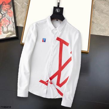 Louis Vuitton Shirts for Louis Vuitton long sleeved shirts for men #99874121