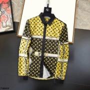 Louis Vuitton Shirts for Louis Vuitton long sleeved shirts for men #99874125