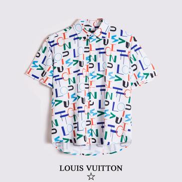Louis Vuitton Short sleeved shirts #9874074