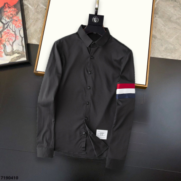 THOM BROWNE Shirts for THOM BROWNE Long-Sleeved Shirt for men #99874123