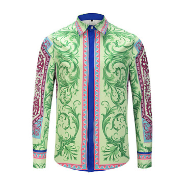 Versace Shirts for Versace Long-Sleeved Shirts for men #99900589
