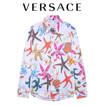 Versace Shirts for Versace Long-Sleeved Shirts for men #999902566