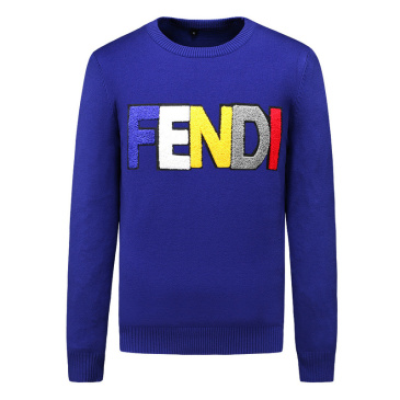 Fendi Sweater for MEN Blue/Black/Grey #99874918