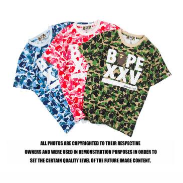 Bape XXV camouflage print T-shirts #99902789