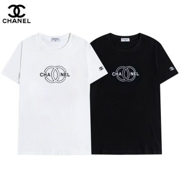 Ch**el T-Shirts White/Black #99899854