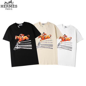 HERMES T-shirts for men and Women #99117601