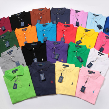 Ralph Lauren Polo Shirts for MEN Small Pony (21 Colors) #9874263