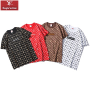 Supreme&LV classic T-shirts for MEN #99117644