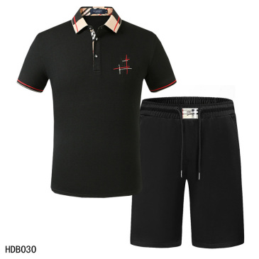 Burberry Tracksuits for Burberry Short Tracksuits for men #9874343