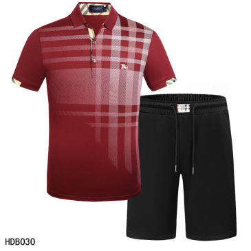 Burberry Tracksuits for Burberry Short Tracksuits for men #9874350