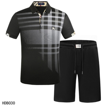 Burberry Tracksuits for Burberry Short Tracksuits for men #9874352