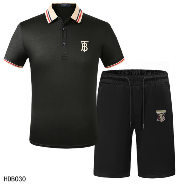 Burberry Tracksuits for Burberry Short Tracksuits for men #9874353