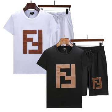 Fendi Tracksuits for Fendi Short Tracksuits for men #99902348