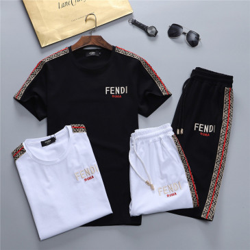 Fendi Tracksuits for Fendi Short Tracksuits for men #99902531