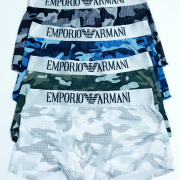 Armani Underwears for Men camouflage colors(4PCS) #994828