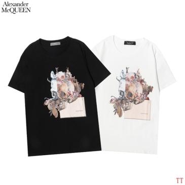 Alexander McQueen T-shirts for men and women #99902764