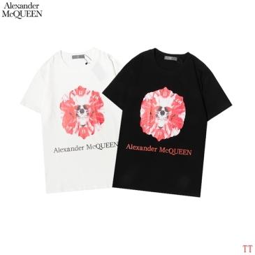 Alexander McQueen T-shirts for men and women #99902766