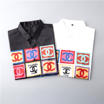 Chanel shirts for Chanel short-sleeved shirts for men #9874419