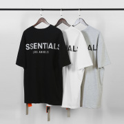 Los Angeles limited FOG Essentials 3M Reflective short sleeves T-shirts #99117329