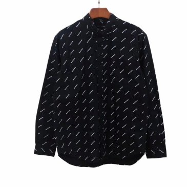 Balenciaga Long-Sleeved Shirts for men and women European size #99117499