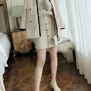 Ch*nl Horse clip shirt half-length skirt Women's Tracksuits #9126232