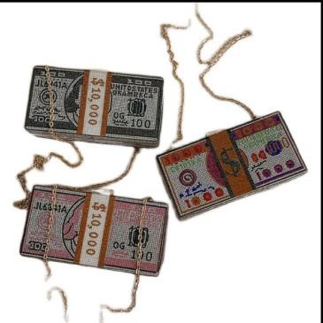 2020 foreign trade new diamond set dinner bag cross border Amazon US dollar hand bag diamond messenger bag small square bag #99874313