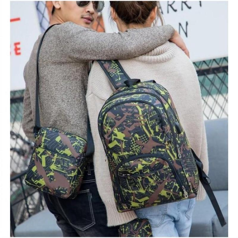 2021-23 HOT Hot Best outdoor bags camouflage travel backpack computer bag Oxford Brake chain middle school student bag many colors #99902740