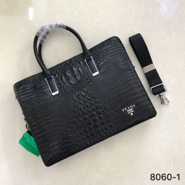 Prada  AAA+office bags for men's #9123455
