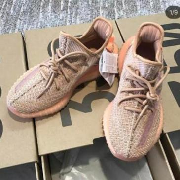 adidas Boost Yeezy 350 v2 Luminous shoes #9126454