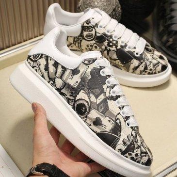 2020 New Alexander McQueen Shoes for Unisex McQueen Sneakers #9874807