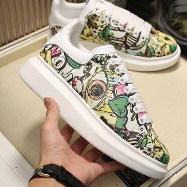 2020 New Alexander McQueen Shoes for Unisex McQueen Sneakers #9874810