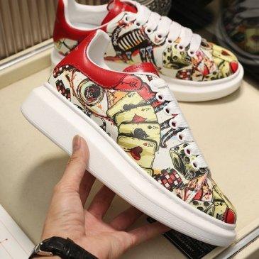 2020 New Alexander McQueen Shoes for Unisex McQueen Sneakers #9874811