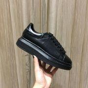 Alexander McQueen black sneakers for women and men #9115187