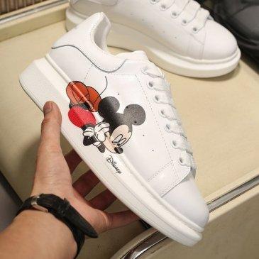 Luxury Alexander McQueen Shoes for Unisex McQueen Sneakers #9874877