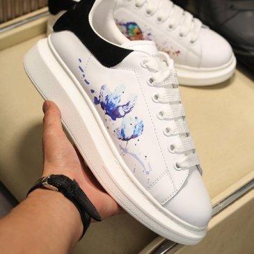 Luxury Alexander McQueen Shoes for Unisex McQueen Sneakers #9874879