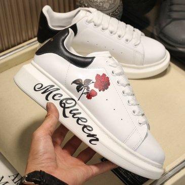 Luxury Alexander McQueen Shoes for Unisex McQueen Sneakers #9874881