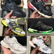Balenciaga  2020 New 3M Triple S Track 3.0 Running Shoes Release 3 Tess Gomma Maille Jogging Balenciaga Shoes Sport Sneaker  #9875177