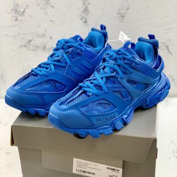 Balenciaga blue High Quality TRACK 3.0 daddy shoes for Men women #99902480