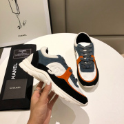 Unisex Ch*nl Sneakers high quality shoes #9122841
