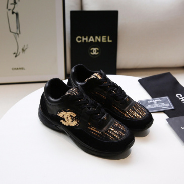 Chanel shoes for Women's Chanel Sneakers #9125987