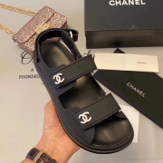 Chanel shoes for Women's Chanel slippers #9873612