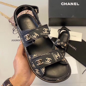 Chanel shoes for Women's Chanel slippers #9873614