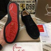 Hot Christian Louboutin Sneakers Red Bottoms Bottom Men Women Fashion High Cut Party Lovers Shoes #9874798