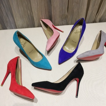 Christian Louboutin Shoes for Women's CL Pumps Heel height 10.5cm #99903667