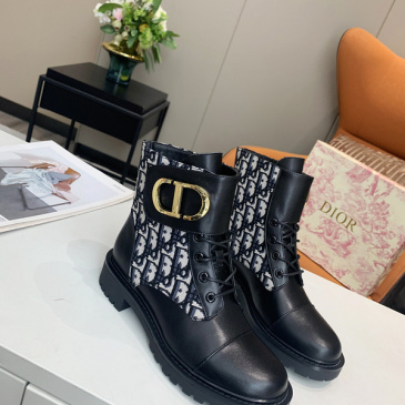 Dior women's leather boots #99874640